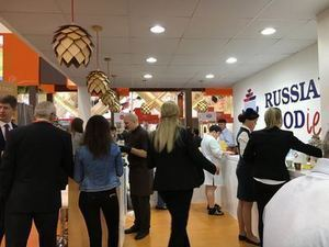 Russian Pavilion at Gulfood
