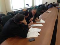 A role-playing game 'The foundation of an Islamic financial company in Russia' was held in Moscow Islamic University